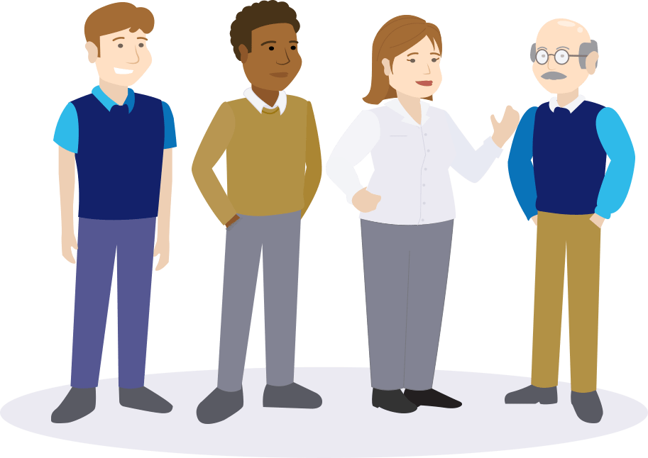 New Hire Compliance Training Characters